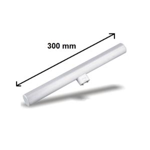 LINESTRA LED 1 ATTACCO 300 MM 5W LUCE CALDA ATTACCO S14S SOSTITUTO 25 W TRADIZIONALE