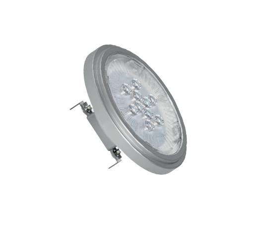 AR111 LED ATTACCO G53 11W DI CONSUMO (RESA 77W TRADIZIONALE) LUCE CALDA 12 V AC / DC FARETTO LED