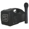 Sistema portatile da 30 w con microfono wireless vhf ad impugnatura front