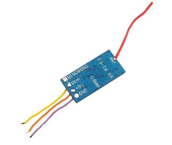 Ricevitore Flysky 6 canali 2,4 GHz