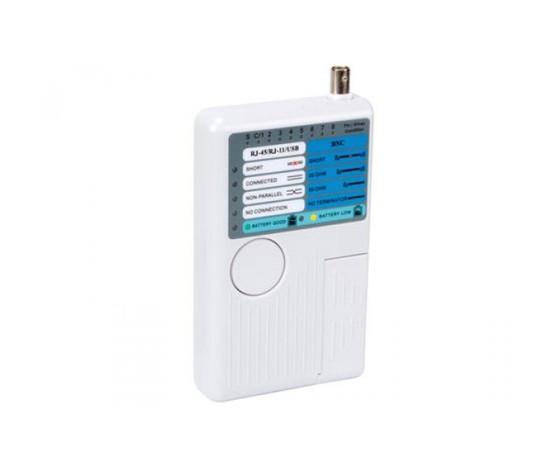 Tester per cavi USB, LAN e Telefonici