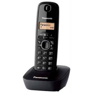 Telefono cordless dect panasonic nero KX-TG1611 KX-TG1611JTH