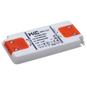 Alimentatore per led 6w 12vdc slim MKC light MKC6-12VF