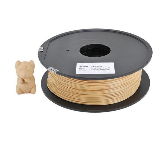 Filamento legno chiaro 1,75 mm - 500 grammi 1