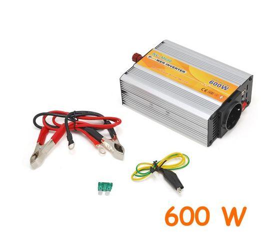 Inverter uscita sinusoidale modificata 600W 12V–220VAC+USB