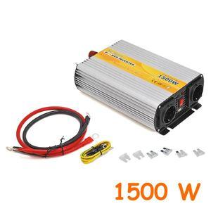 Inverter uscita sinusoidale modificata 1500W 12V–220VAC+USB