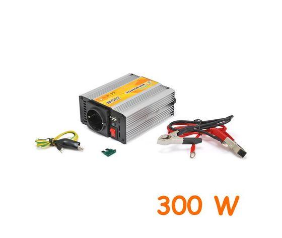 Inverter uscita sinusoidale modificata 300W 12V–220VAC+USB