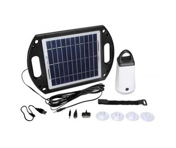 Accumulatore solare per Camping con Lampada a LED