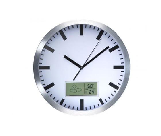 Orologio da parete con termometro e igrometro