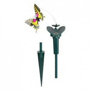 Farfalla con pannello solare