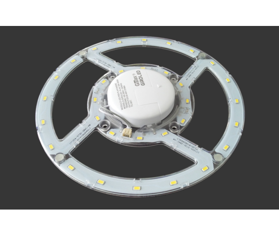CIRCOLINA LED 24W LUCE FREDDA NATURALE CALAMITATA GIROLED