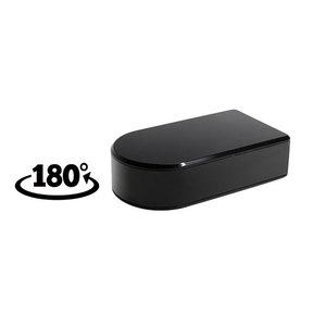 Telecamera nascosta Wi-Fi Black Box, con registrazione di Audio-Video e rotazione 180 gradi