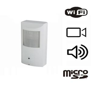 Wi-Fi Registratore Audio-Video nascosto in sensore PIR
