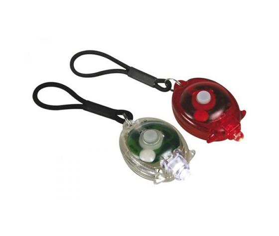 Coppia di Luci a LED bianco e rosso per Bici