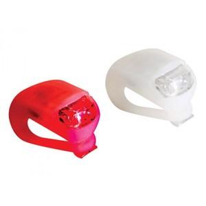 Coppia di Luci a LED Anteriore e posteriore per bici