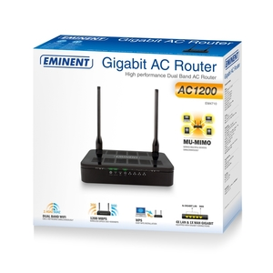 Router Access Point Dual Band AC 1200, 2 Antenne,WPS