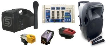 Audio e hi fi professionale amplificazione