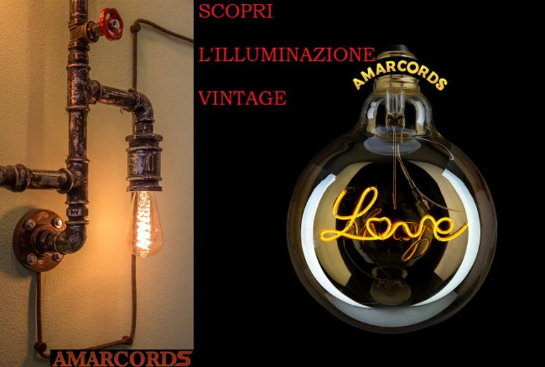 Lampade amarcords vintage