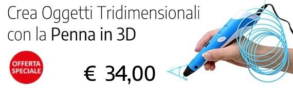 Penna top a 34 euro