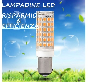 Banner lampadina led risparmio efficienza 3