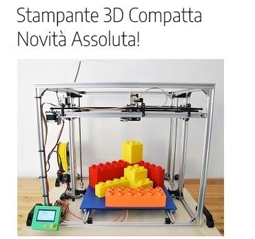 Stampante 3d compatta novita assoluta