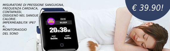 Smartwatch sonno