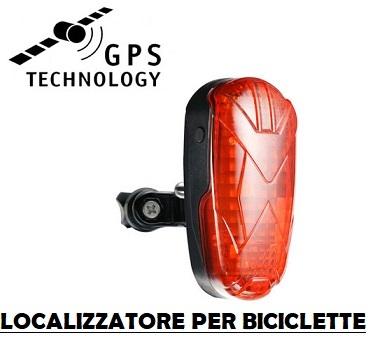 Localizzatore gps per biciclette