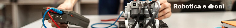 Foto per pagina interna robot e droni