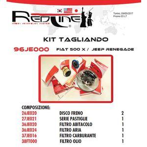 Kit Tagliando FIAT 500 X
