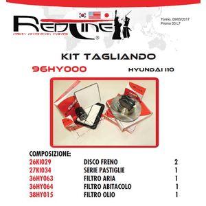 Kit Tagliando HYUNDAI I10