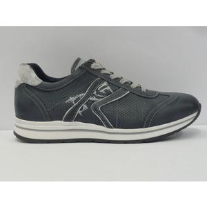 Sneakers uomo Nero Giardini trendy blu/bianco