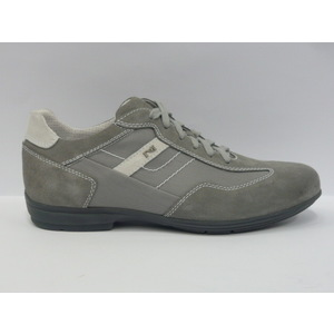 Sneakers uomo Nero Giardini trendy fumo/grigio/bianco