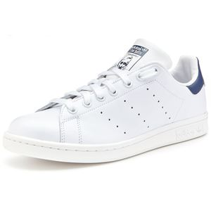 Adidas Stan Smith bianco navy in pelle