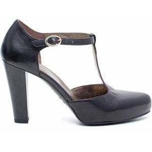 decolletè donna Nero Giardini scontato vernice calzature durello