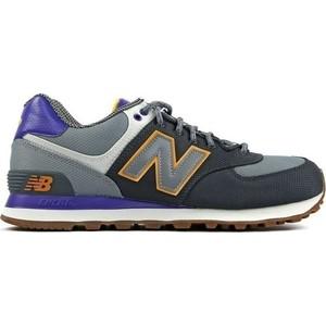 sneaker New Balance ML574EXA colore grigio e viola