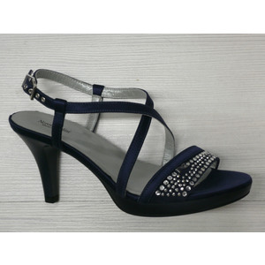 sandalo donna nero giardini scontati marina blu