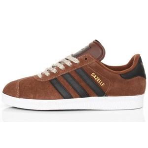 sneaker adidas gazelle II G63206 black brown durellocalzature