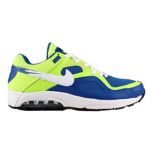 Nike air max go strong essential blue/withe/fluo yellow durellocalzature