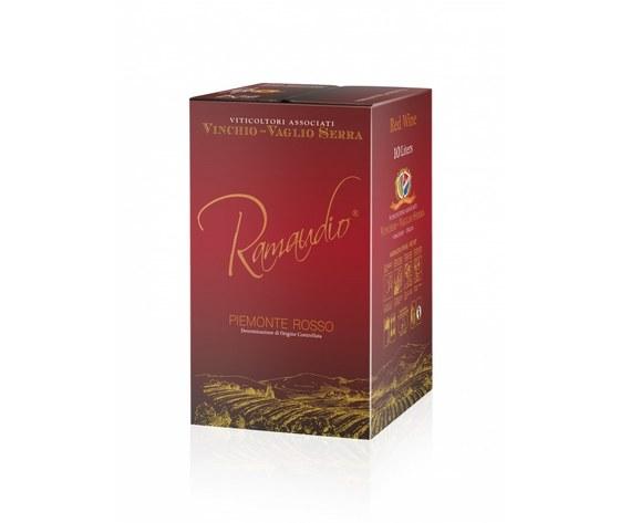 Piemonte D.O.C. Rosso - Ramaudio - BAG IN BOX 10 litri