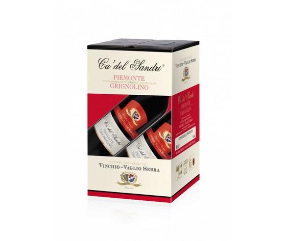 Piemonte D.O.C. Grignolino - Ca' del Sandri - BAG IN BOX 10 litri