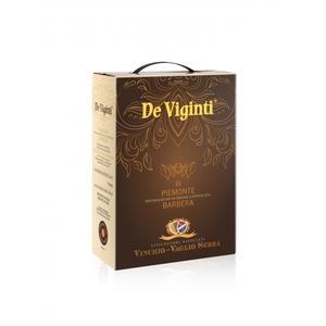 Piemonte D.O.C. Barbera - De Viginti - BAG IN BOX 4x3 litri