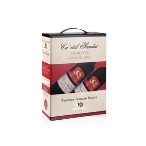 Piemonte D.O.C. Grignolino - Ca' del Sandri - BAG IN BOX 4x3 litri