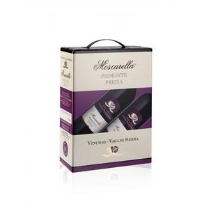 Piemonte D.O.C. Freisa - Moscarella - BAG IN BOX 4x3 litri
