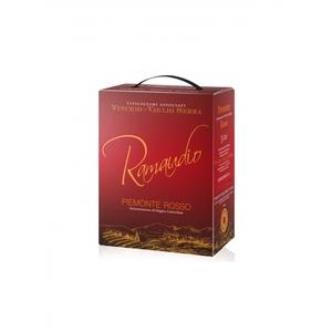 Piemonte D.O.C. Rosso - Ramaudio - BAG IN BOX 4x3 litri