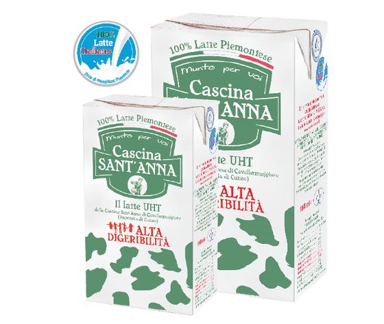 Latte Alta Digeribilità Sant'Anna - BOX CONTENENTE 24 CONFEZIONI DA 1/2 LITRO -