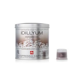 Caffè Illy in capsule Iperespresso - Idillyium (Box contenente 6 confezioni da 21 capsule)