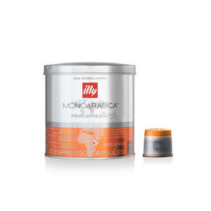 Caffè Illy in capsule Iperespresso - Monoarabia Etiopia  (Box contenente 6 confezioni da 21 capsule)