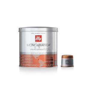 Caffè Illy in capsule Iperespresso - Monoarabia Costarica  (Box contenente 6 confezioni da 21 capsule)