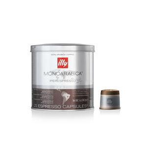 Caffè Illy in capsule Iperespresso - Monoarabia Brasile  (Box contenente 6 confezioni da 21 capsule)