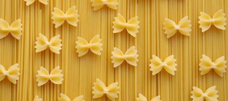 3 noodles pasta spaghetti farfalle 42326